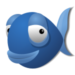 Logo: Bluefish